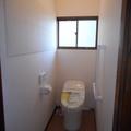和式のトイレから洋式のトイレにしました。